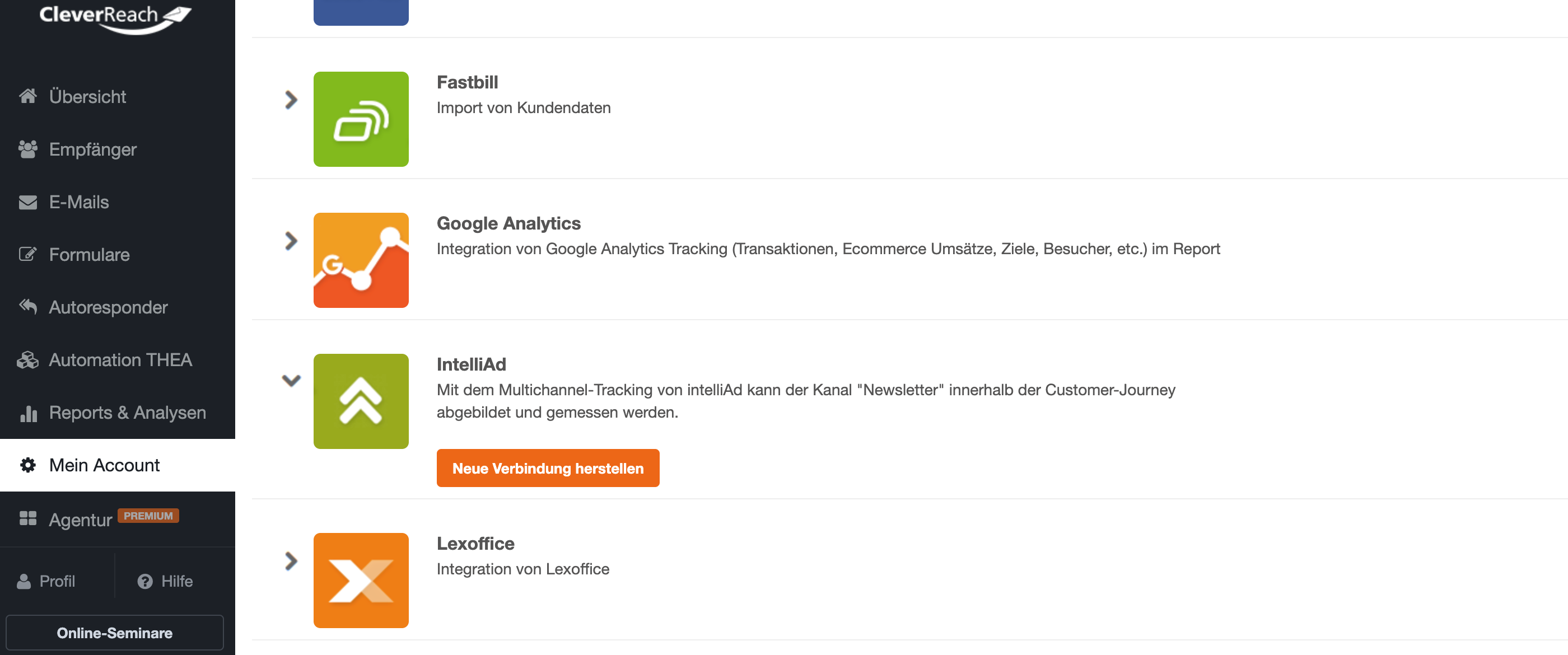 Conversion Tracking mit Google Analytics - CleverReach