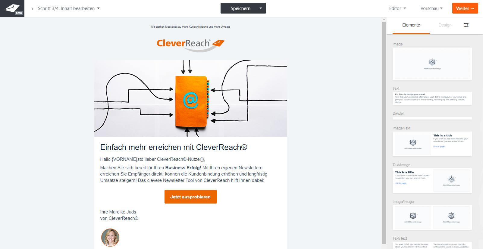 cleverreach-screenshot-newsletter-editor-emails-erstellen-gestalten